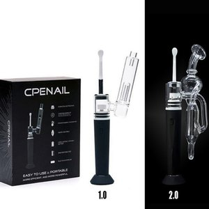 Enail Dab Rig Portable Wax Pen CPENAIL Wax Starter Kits 1100mAh H Nail GR2 Pure Titanium Ceramic Quartz Electric Glass Bong Vaporizer