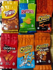 Yeni CRUNCKY ME EDEBİLİ MYLAR PAKETLEME ÇANTA 710 Ekşi Yerler Gummy Paket Için Fritos Koruz Peyniri Lezzet Koku Geçirmez Çanta Kilitli Poli BGG
