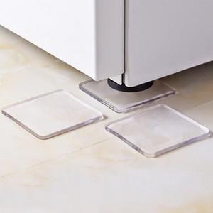 Schockauflagen Anti-Vibration-Pad für Waschmaschine Silikon-rutschfeste Matten Kühlschrank Multifunktionsauflage rutschfeste PU-weiche Klebstoffpaste