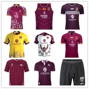 2020 National Rugby League Queensland 18 19 20 QLD MAROONS Malou Rugby Jersey 2021 QLD MAROONS Estado de origen Rugby Jersey Tamaño S - 3XL