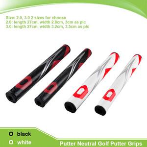 New Golf Grips Black White Unique Design Golf Clubs Putter PU Putter Neutral Golf Putter Grips 2.0 3.0 Ultralight