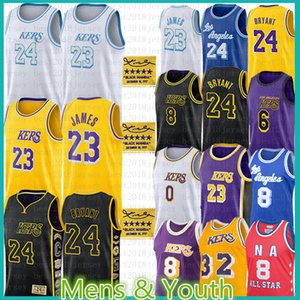 Mens Jugend Kinder Lebron 23 James Jersey Anthony Kyle Davis Kuzma Alex Ohrvin Caruso Johnson Los Angeles