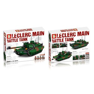 Jiazhi Building Blocks Military Series Main Battle Tank Assembled Building Blocks Toys Boys Gifts ABS Plastic Hands-on 898 Particles