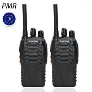 2pcs Baofeng BF-88E PMR Walkie Talkie PMR UHF 446 MHz 0.5 W 16 CH Handheld Ham 양방향 라디오 EU User1 용 USB 충전기
