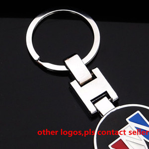 Hot Metal Car Logo Keychains Key Ring Auto Key Chain Keyrings Key Holder Gift Keyfob Pendant for Benz VW BMW Audi Land Rover Jaguar