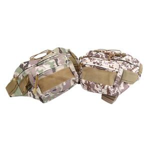 Outdoor Waist Bag Tactical Waist Pack Shoulder Bag Multi-pocket Camping Hiking Pouch Belt Wallet Pouch Purse