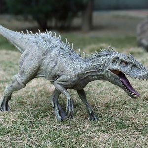 Büyük Boy Jurassic Indominus Rex Simülasyon Dinozor Model Oyuncak Hayvan Plastik PVC Action Figure Koleksiyon Bebek Oyuncak Çocuklar için Q1123