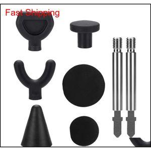 6pcs set Fasciagun Accessories Mas Adapter Muscle Relaxation Ball Tool Deep Tissue Trigger Poi qylPKz pingtoy