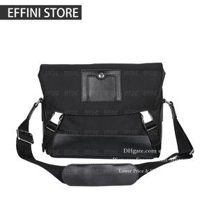 mens satchels bag messenger bag 2020 luxurys designers shoulder crossbody bags black fashion genuine leather man cross body bookbag handbag