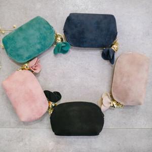 Designer-Hot Sale Women Crown Short Mini Money Lady Folding Bag Holder Flower Pendant Coin Purses Smart Slim Card Wallet