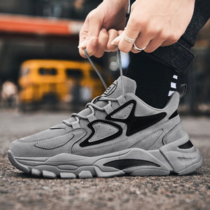 Marca de moda Nidengbao zapatos casuales para hombres zapatillas masculinas zapatillas transpirables de encaje transpirable calzado de calzado Chaussure Homme Comfort Zapatos al aire libre # xz4b