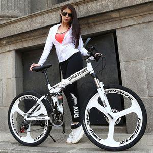 LOVELION Mountain Bike Carbon Steel Frame 24 26 Inch Wheel Dual Disc Brake 24 27 Speed Bicycle Outdoor Downhill Mtb Bicicleta