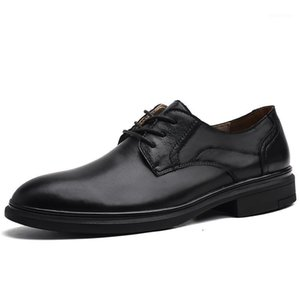 Plus size 37-46 formal shoes men Business shoes mens Dress Genuine leather men oxford for leather1