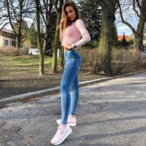 Melody cuatro maneras estirable Jeggings de 4 colores flaco Jeans Denim Mujer Vaqueros Pantalones Mujer