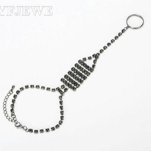 2020 Luxury Crystal Bracelets For Women Silver color Bracelets & Bangles Bridal Wedding Jewelry Charm B052