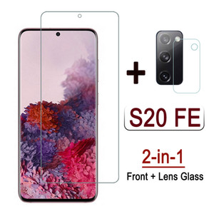 2 in 1 Glass For Samsung S20 FE 5G 2020 Tempered Glass Camera Lens Protective Film For Samsung S20 Fan Edition Screen Protector