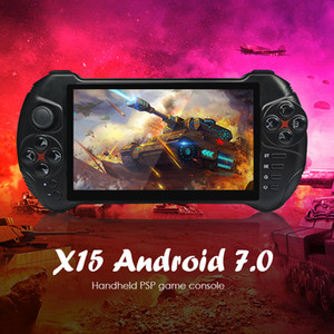 Powkiddy X15 Andriod Handheld Game Console 5.5 INCH 1280*720 Screen MTK8163 quad core 2G RAM 32G ROM Video Handheld Game Player Y1123