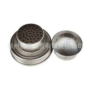 304 Acero inoxidable Mason Jar Tapa Silicona Silicona Enchufe 70mm Calibre Shaker Lids A prueba de agua Transporte Cubierta Venta caliente 4 6YT M2