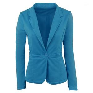 2019 New Arrival Colorido Blazer Feminino Slim Fit Blaser Korean Harajuku Office Lady Overalls Underwear Women Abrigo Mujer 581