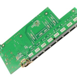 FreeShipping DSLRKIT 48V 120W 9 Порты 8 POE Инжектор Power Over Ethernet Switch 4,5 + / 7,8 - с адаптером питания