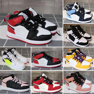 Children shoes 1 cheap store Top Quality kids Basketball shoes Wholesale price free shipping sales Size 28-35