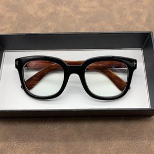 Carbon footwear Glasses Frames Men Women Oversized Male Unisex Nerd Square Mark Design Glass For Optical FHP1
