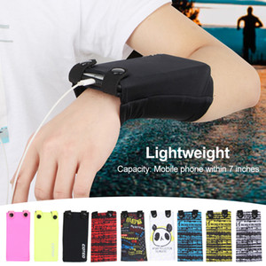 Outdoor Jogging Cycling Gym Sports Wrist Bag Arm Pack For Mobile Phone Card Pack Key Handbag Running Arm Bag Phone Pouch