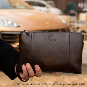 Wallets PU Leather Male Purse Business Cluth Men Long Wallet Business Mens Handy Bag Carteira Masculina1