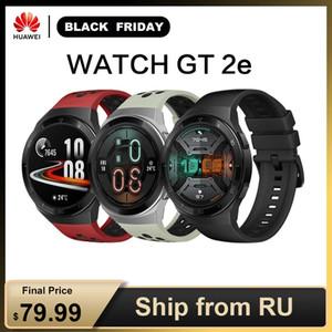 """Новое Прибытие Huawei Watch GT 2e 1.39 """"Amoled 5ATM Smart Watch 2 недели Длинные резервные спортивные часы GT Lite Оригинал NFC 100 Sport"""