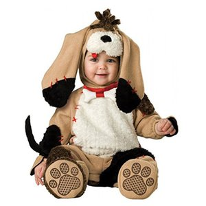 Halloween Cute Puppy Boys Rompers Animal Cosplay Cat Girls Jumpsuits Baby Dog Costumes Infants Clothes for Christmas