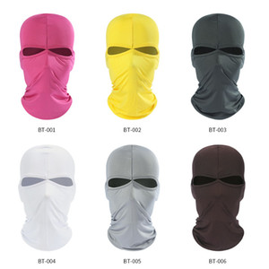 Cycling Motorcycle Face Masks Fashion Outdoor Sports Neck Face Mask Solid Color Ski Snowboard Wind Beanie Cap GWA2675