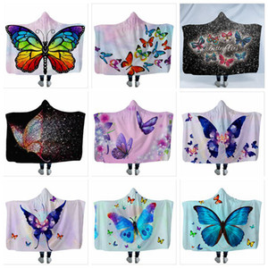 Cloak blanket Butterfly Hooded Blanket fancy children's blanket Soft Warm explosive goods winter must-have unique design YSY2Q