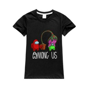 New Game Among Us Printed Boys Girls T Shirt Children Short Sleeve Kids Casual Tops Tees Toddler Colorful Camiseta Harajuku