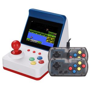 Hot A6 Mini Retro FC Vermelho e Branco Handheld Video Game Console Dupla Host Nostalgic