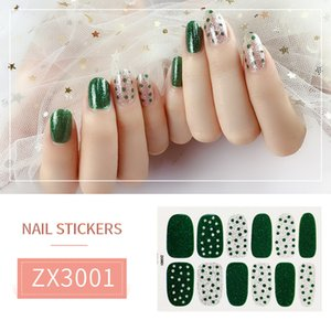 Wholesale Leaf Nail Stickers Decoration Manicure Stickers False Nails Full Cover Waterproof Women Nail Stickers Nail Art Girls