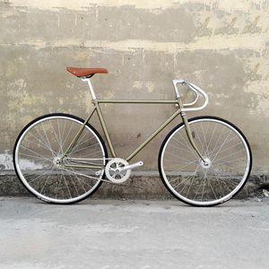 2021 Best Single Mars Silver Road Bicycle Vélo 700c Pinner fixe, Vélo, Bike unique Mars, 52cm