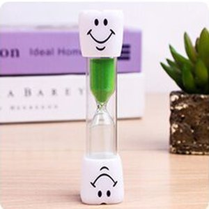 2021 Minutes Sand Timer Clock Smiling Face Hourglass Decorative Household Kids Toothbrush Timer Sand Clock Gifts Christmas Ornaments DBC