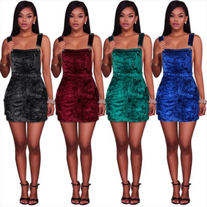 womens dresses 2020 new style fashion popular ladies dress solid rompers 1071 Drop Shipping Good Quality