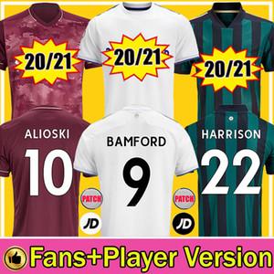 Männer + Kinder 20 21 Leeds United Fußballtrikots Roberts 2020 2021 Trikot Harrison Klich Alioski Hernandez BAMFORD Phillips Dritte Fußballtrikots Soccer Jerseys