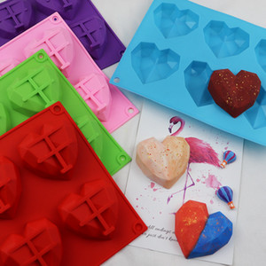 6 Companies Silicone Molds Kitchen Gadgets Ice Cube Moulds Little Love Silicone Soap Molds Cake Decorating Supplies DIY 4 6mh F2