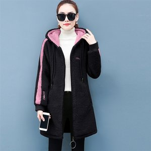WYWAN autumn and winter coat new loose coat women's Coat 3XL fashion jacket 201210