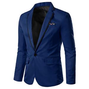 Fashion New Style Men Suit Jacket Men's New Slimming Korean Version Casual Single Men Suit Coat One Button Jacket