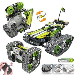 new STEM toys kids building blocks motor rc auto legoINGlys technical car with remote control set kit Y1130