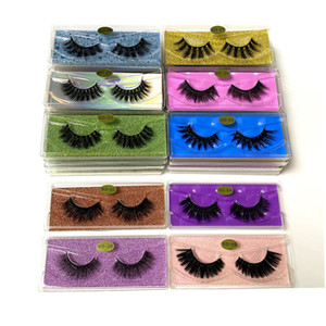3D Mink Eyelashes Wholesale 10 styles HD LD 3d Mink Lashes Natural Thick Fake Eyelashes Makeup False Lashes Extension In Bulk DHL Free ship