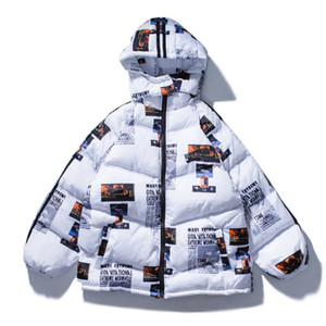 April MOMO Men Letter Print Hooded Parkas Jackets Women Winter Warm Cotton Parka Hip Hop Jacket Coat Harajuku Streetwear 201125
