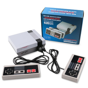 Classic Mini Video for NES HD 821 AV 620 In 1 Games 8 Bit Retro Game Console player family playing Y1123