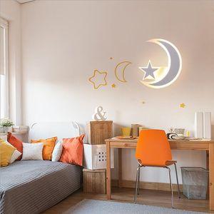 Çocuk odası duvar lambası yatak odası başucu lambası yaratıcı kişilik modern basit karikatür dekoratif duvar lambası