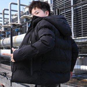 2020 New Winter Jackets Parka Men Autumn Winter Warm Outwear Brand Slim Men's Coats zipper Jackets Male Hooded collar Solid coat