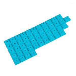 YMDK индивидуальные 48 ключевых красителей Sub PBT DSA брелок буквенно-цифровые клавиши для большинства коммутаторов MX клавиатуры Planck Filco Ergodox1