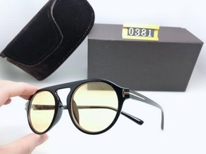 luxury top qualtiy New Fashion women 0381 Sunglasses For Man Woman Erika Eyewear Designer Brands Sun Glasses with original box UV400
